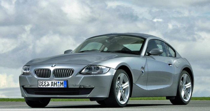 BMW Z4 coupé E86 le nouvel exploit de l'automobile