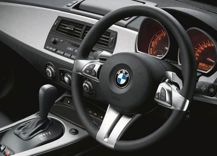 BMW montre de belles finitions à l'intérieur da sa Z4